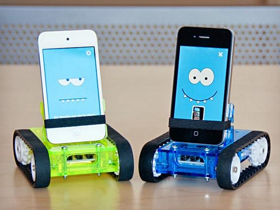 Romo-Smart-Phone-Robot
